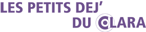 Logo Petits déj' du CLARA