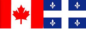 Drapeau Canada-QC