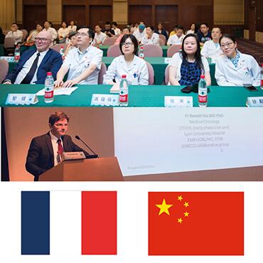 4 intervenants de la Région étaient à Shanghai pour une formation en recherche clinique