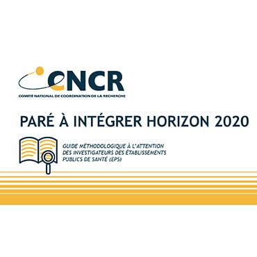 Découvrez la plaquette CNCR «Paré à intégrer Horizon 2020» !