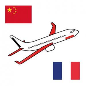 Avion Chine-France