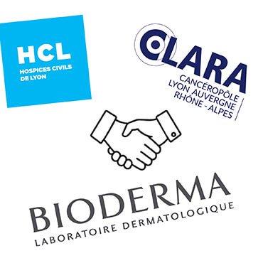 BIODERMA – HCL – CLARA : Un partenariat prometteur dédié aux effets secondaires cutanés des traitements anticancéreux