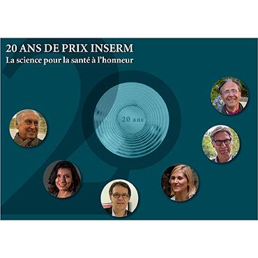 20 ANS DE PRIX INSERM : La science pour la santé à l'honneur