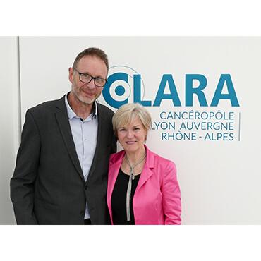 Le Professeur Pierre Hainaut nouveau Président  du Cancéropôle Lyon Auvergne-Rhône-Alpes