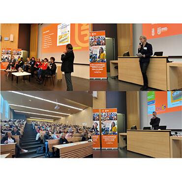 Plus de 250 participants au 2e symposium  sur la recherche en sciences infirmières à Saint-Étienne,  porté par le CLARA et l'UJM