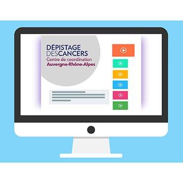 Dépistage des cancers : Centre de coordination Auvergne-Rhône-Alpes : Restons connectés !