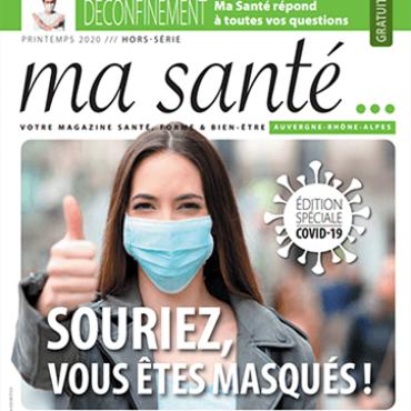 Le magazine Ma Santé publie un spécial Covid-19