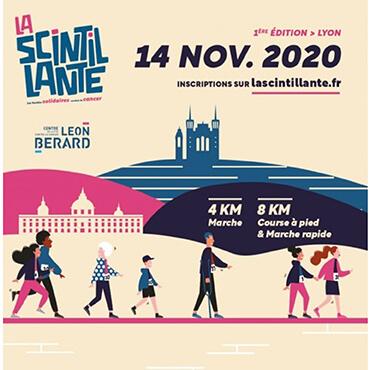 La Scintillante : évènement sportif et solidaire au profit de la recherche contre le cancer menée au Centre Léon Bérard