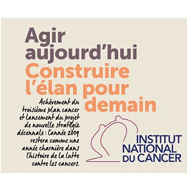 L'Institut national du cancer publie son rapport annuel 2019