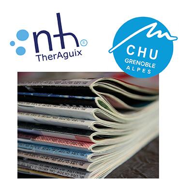 NHTherAguix  et le CHU Grenoble-Alpes annoncent la publication de  l'essai NANORAD 1