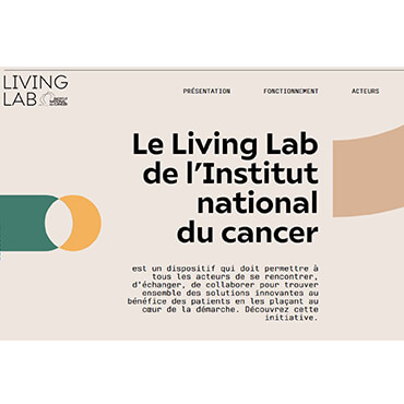 L'Institut national du cancer lance son Living Lab national