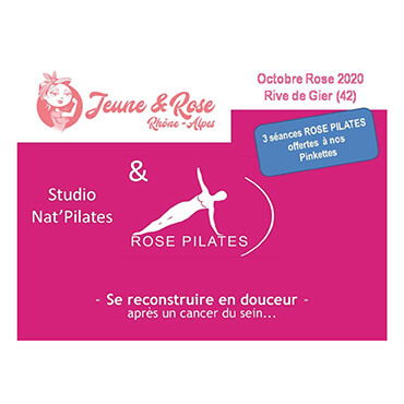 Action Jeune & Rose & NAT'PILATES