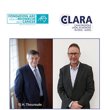 Le CLARA et la Fondation ARC reconduisent leur partenariat