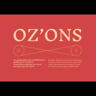 Programme OZ'ONS 2021 sur l'expérience patient