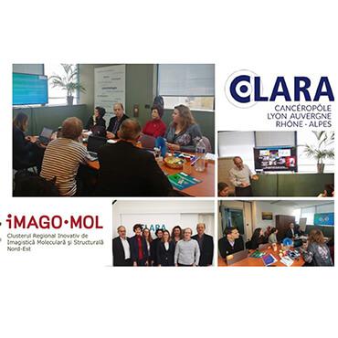 Signature d'une convention de partenariat entre le cluster IMAGO-MOL et le CLARA