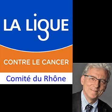 Zoom sur Jean-Pierre Martin, Président du Comité départemental de la Ligue contre le cancer du Rhône