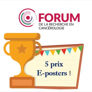 Félicitations aux 5 lauréats des prix e-poster du Forum CLARA !