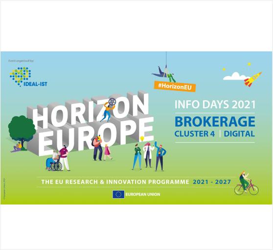 Rencontres face à face en ligne sur les topics des technologies numériques dans le cluster 4 d'Horizon Europe
