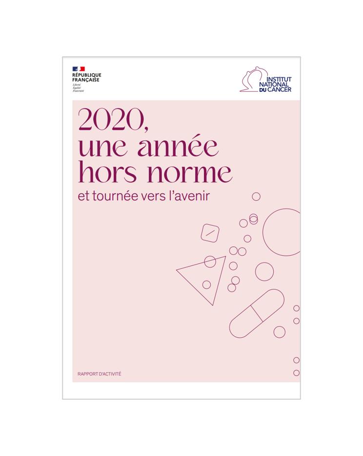 L'Institut National du Cancer publie son rapport d'activité 2020