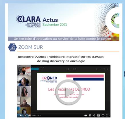 Mise en conformité RGPD – les newsletters du CLARA évoluent !